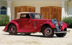 Aston Martin 15/98 Short-Chassis Drophead Coupe by Abbott 1937 года